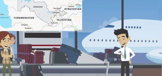 Airports in Uzbekistan