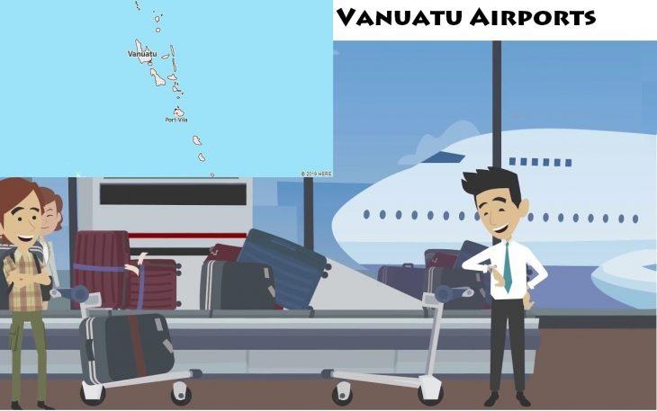 Airports in Vanuatu