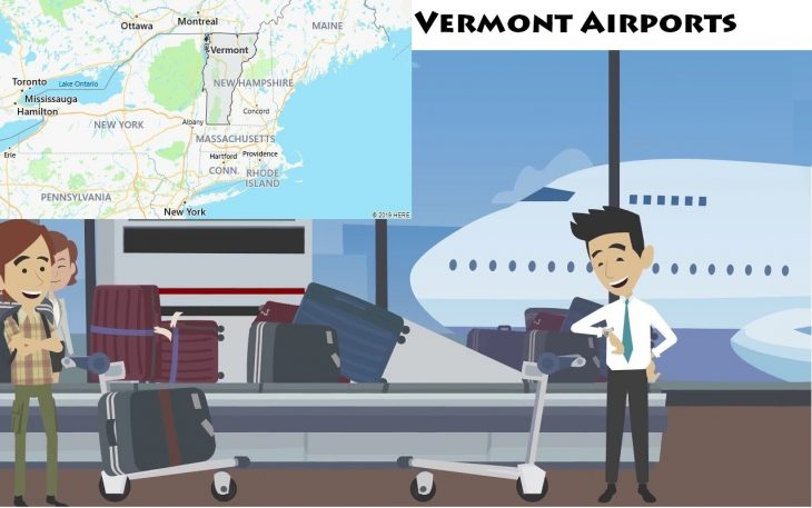 Airports in Vermont