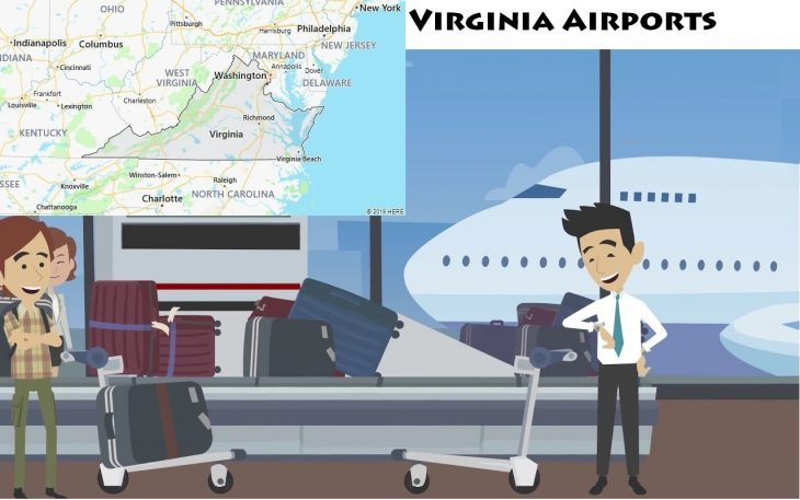 Airports in Virginia