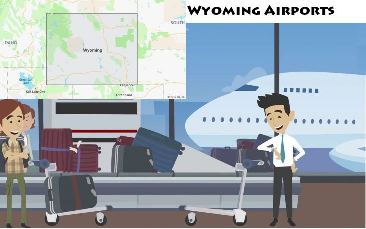 Airports in Wyoming