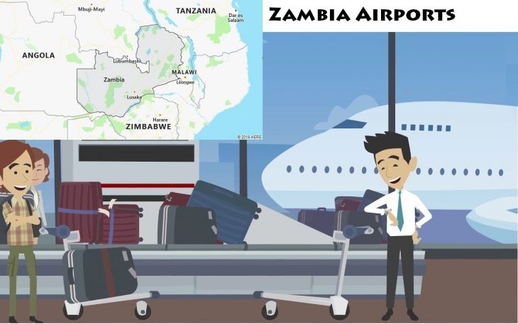 Airports in Zambia
