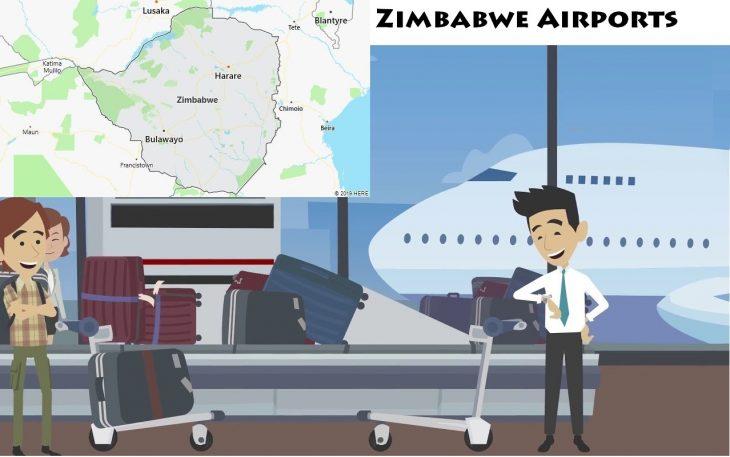 Airports in Zimbabwe