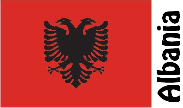 Albania Country Flag