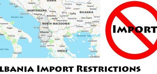 Albania Import Regulations