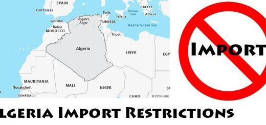 Algeria Import Regulations