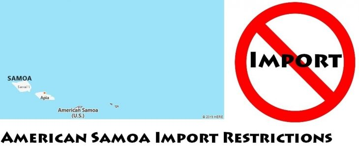 American Samoa Import Regulations