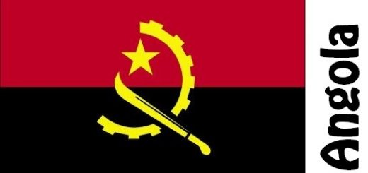 Angola Country Flag