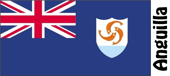 Anguilla Country Flag
