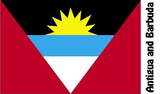 Antigua and Barbuda Country Flag