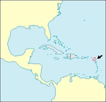 Antigua and Barbuda Location Map