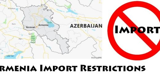 Armenia Import Regulations