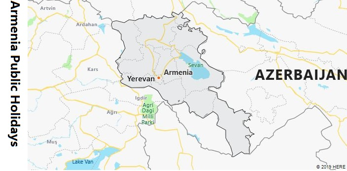 Armenia Public Holidays