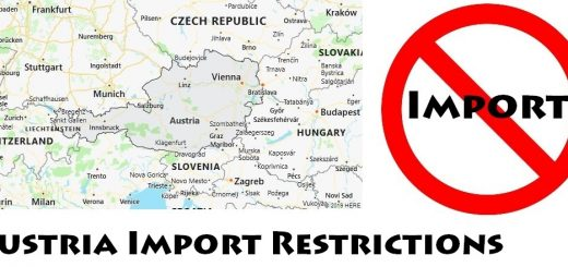 Austria Import Regulations