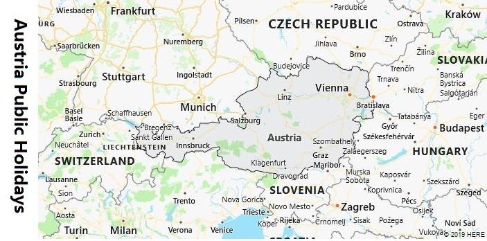 Austria Public Holidays