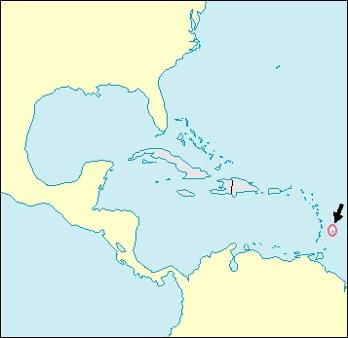 Barbados Location Map