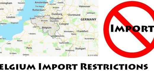 Belgium Import Regulations