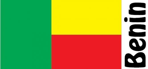 Benin Country Flag