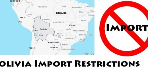 Bolivia Import Regulations
