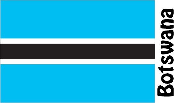 Botswana Country Flag