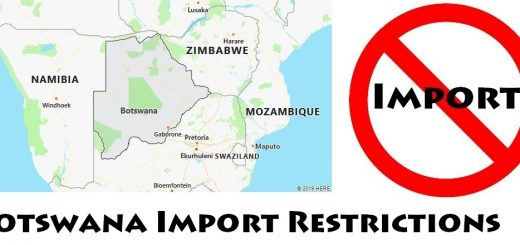 Botswana Import Regulations