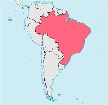 Brazil Location Map