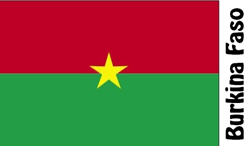 Burkina Faso Country Flag