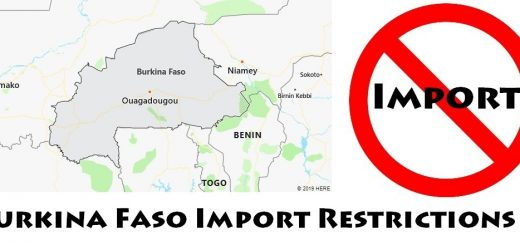 Burkina Faso Import Regulations