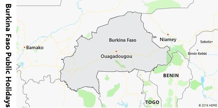 Burkina Faso Public Holidays