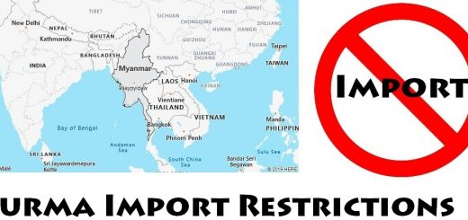 Burma Import Regulations