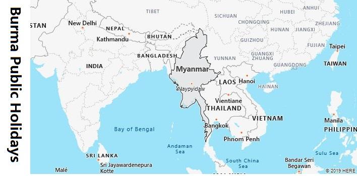 Burma Public Holidays