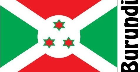Burundi Country Flag