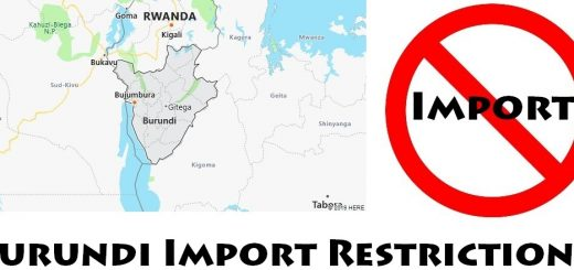 Burundi Import Regulations