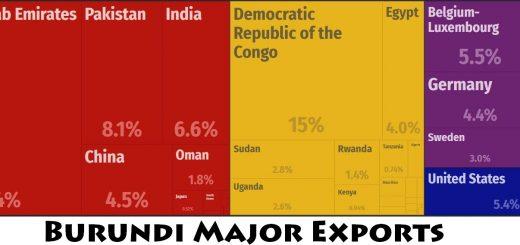 Burundi Major Exports