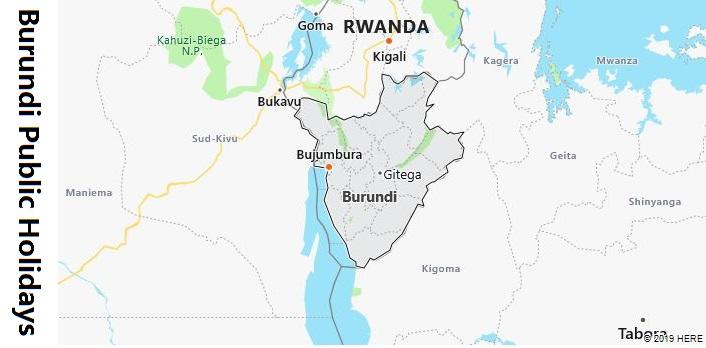 Burundi Public Holidays