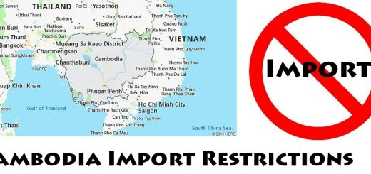 Cambodia Import Regulations