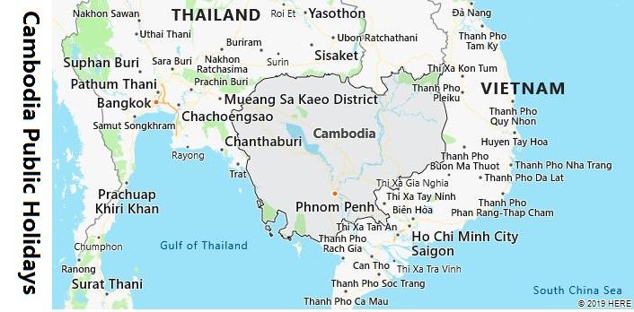 Cambodia Public Holidays