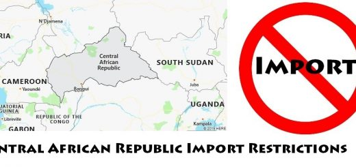 Central African Republic Import Regulations