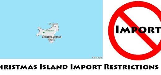 Christmas Island Import Regulations
