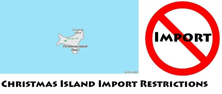 Christmas Island Import Regulations