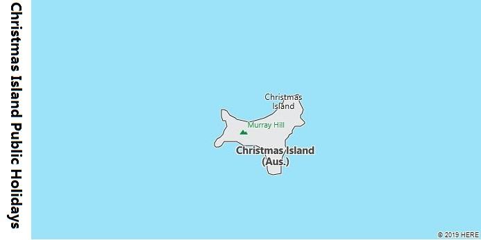 Christmas Island Public Holidays