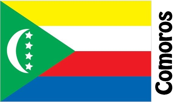 Comoros Country Flag