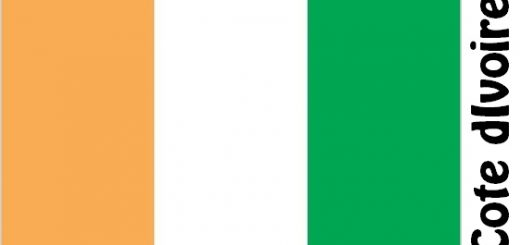 Cote dIvoire Country Flag