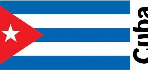 Cuba Country Flag