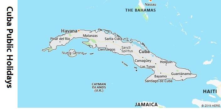 Cuba Public Holidays
