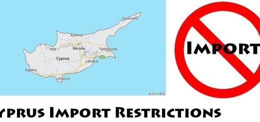 Cyprus Import Regulations