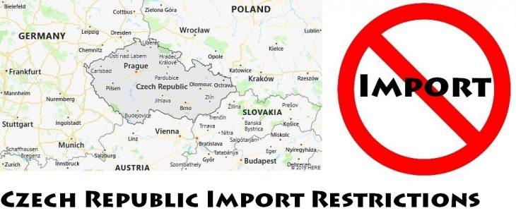 Czech Republic Import Regulations