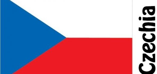 Czechia Country Flag