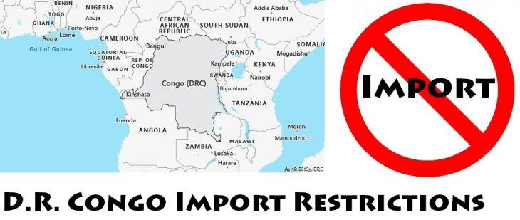 DR Congo Import Regulations