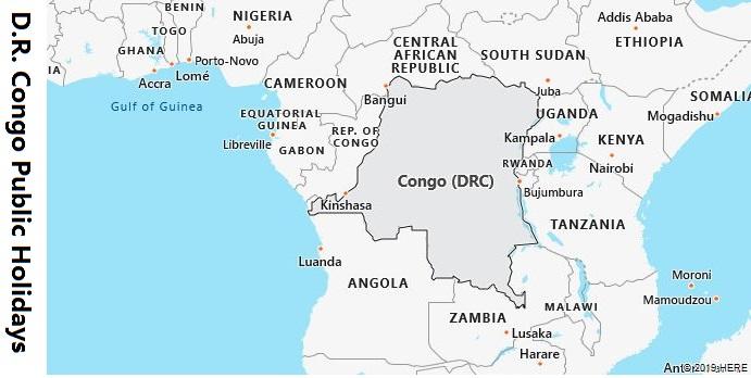 DR Congo Public Holidays